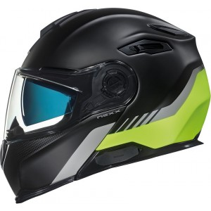 CASCO NEXX X.VILITUR LATIITUDE BLACK-NEON YELLOW MT