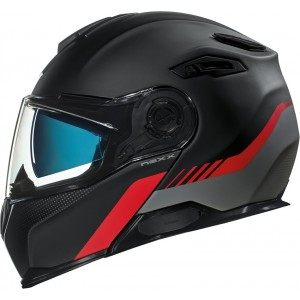 CASCO NEXX X.VILITUR LATITUDE BLACK-RED MT