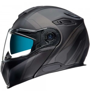 CASCO NEXX X.VILITUR MERIDIAN BLACK/GREY MATT