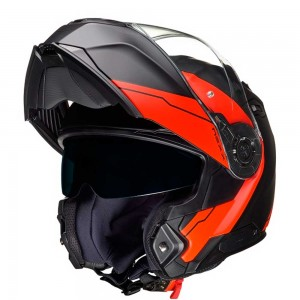 CASCO NEXX X.VILITUR MERIDIAN RED/BLACK MATT
