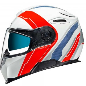 CASCO NEXX X.VILITUR MERIDIAN WHITE/RED