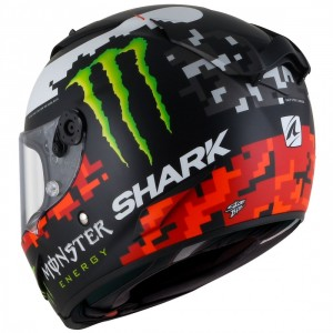 CASCO SHARK RACE-R PRO LORENZO MONSTER MAT 2018 KRG