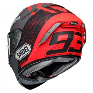 CASCO SHOEI X-SPIRIT 3 MM93 BLACK CONCEPT 2.0 TC-1