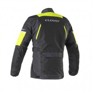 CHAQUETA CLOVER SCOUT 3 BLACK-YELOW