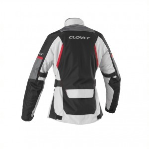 CHAQUETA CLOVER SCOUT 3 LADY BLACK-GREY