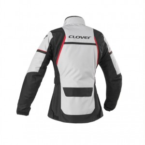CHAQUETA CLOVER STORM 3 LADY BLACK-GREY