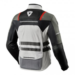 CHAQUETA REV'IT OFFTRACK SILVER-RED