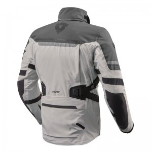 CHAQUETA REV'IT POSEIDON 2 GTX SILVER-ANTHRACITE