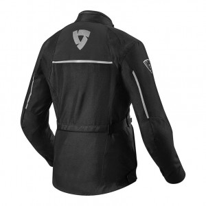 CHAQUETA REV'IT VOLTIAC 2 LADIES BLACK-SILVER
