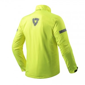 CHAQUETA LLUVIA REV'IT NITRIC 2 H20 BLACK NEON YELLOW