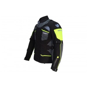 CHAQUETA ONBOARD STONE4S NEGRO/GRIS OSCURO/FLUOR