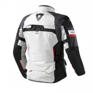 CHAQUETA REV'IT DEFENDER PRO GTX GREY-RED