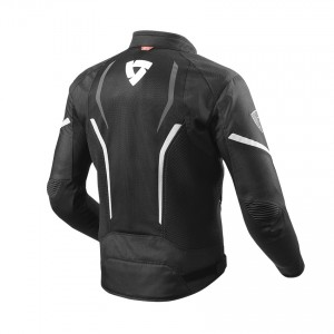 CHAQUETA REV'IT GT-R AIR 2 BLACK-WHITE