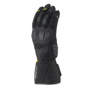 GUANTE CLOVER S.W. BLACK-YELLOW