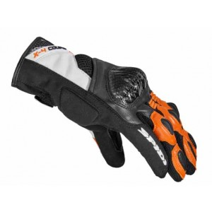GUANTE SPIDI X-4 COUPE BLACK-ORANGE