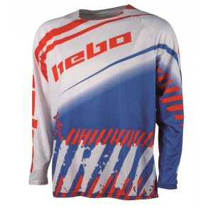 CAMISETA HEBO ENDURO-CROSS STRATOS WHITE