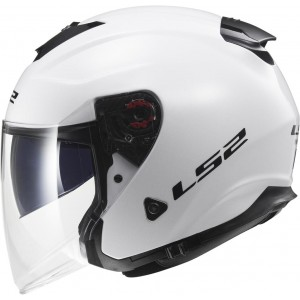 CASCO LS2 INFINITY SOLID WHITE
