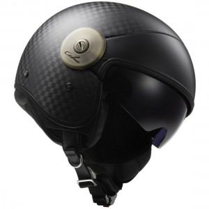 CASCO LS2 CABRIO SOLID CARBON