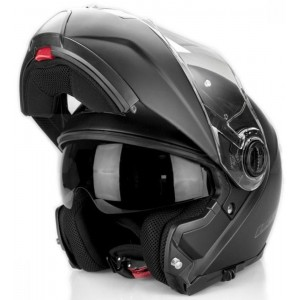 CASCO LS2 STROBE SOLID MATT BLACK