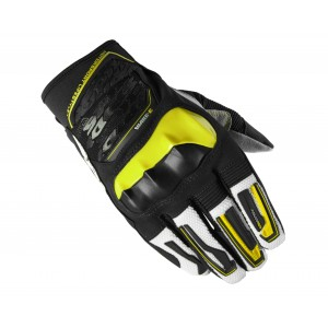 GUANTE SPIDI WAKE EVO LIME-BLACK