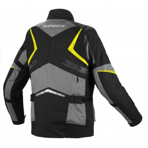 CHAQUETA SPIDI X-TOUR H2OUT BLACK-YELLOW
