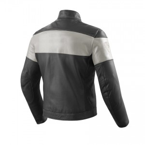 CHAQUETA REV'IT NOVA VINTAGE BLACK-WHITE