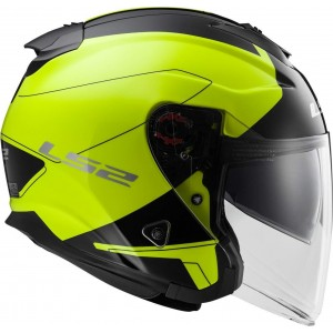 CASCO LS2 INFINITY BEYOND BLACK/YELLOW