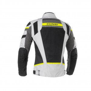 CHAQUETA CLOVER RAINJET LADY YELLOW/GREY