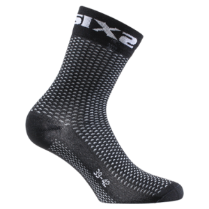 CALCETINES SIX2 SHORT BLACK CARBON