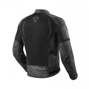 CHAQUETA REV'IT TORQUE BLACK-GREY