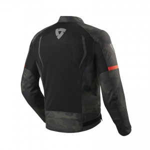 CHAQUETA REV'IT TORQUE BLACK- ARMY-GREEN