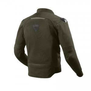 CHAQUETA REV'IT TRACTION DARK GREEN
