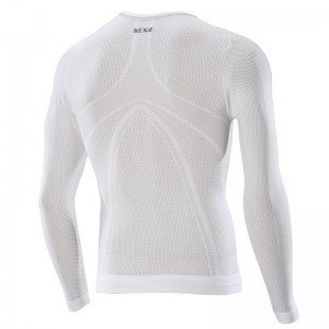 CAMISETA SIX2 TS2L ML WHITE CARBON
