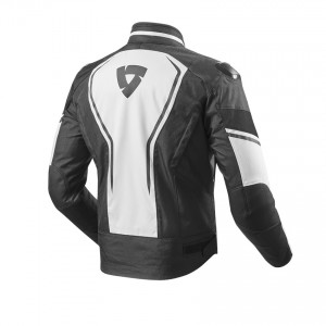 CHAQUETA REV'IT VERTEX WHITE-BLACK