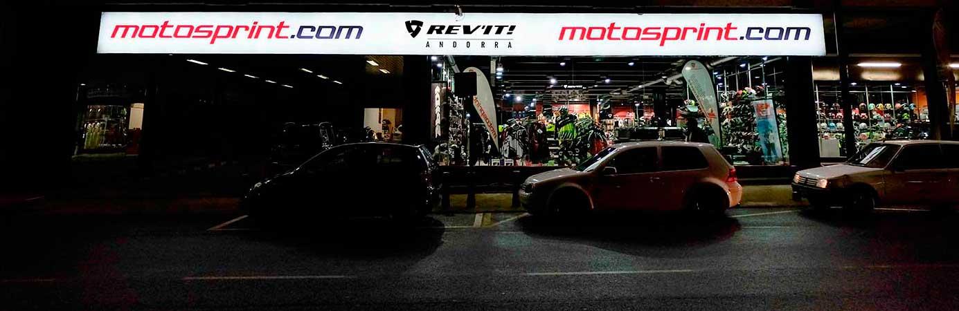 Compra en nuestra tienda Motosprint de Andorra