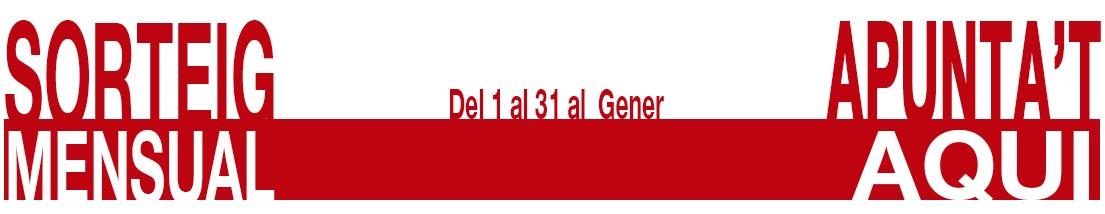 Sorteig d'uns GUANTS GARIBALDI TOURLAND PRO NEGRE de l'1 al 31 de Gener