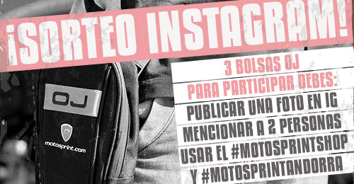Concurso Instagram BlackFriday 2020 en motosprint.com